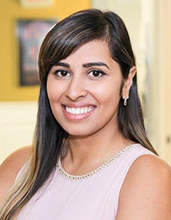 Headshot of Monisha Khanna, DDS