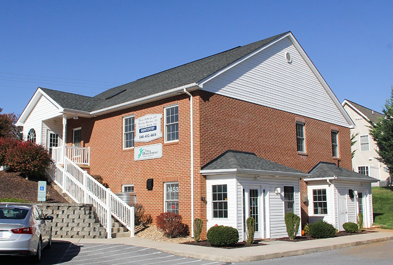 Outside view of Harrisonburg Family & Cosmetic Dentistry