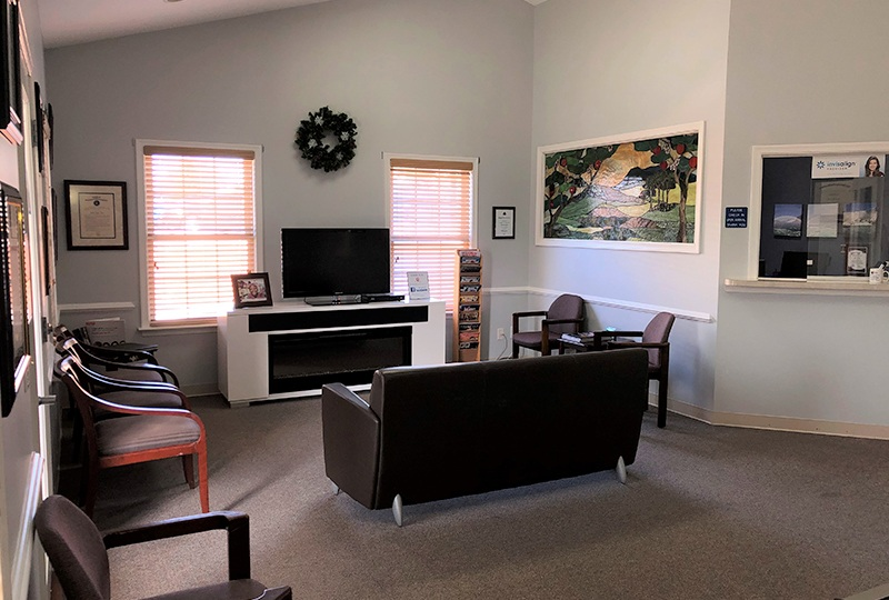 Front room of Harrisonburg Family & Cosmetic Dentistry