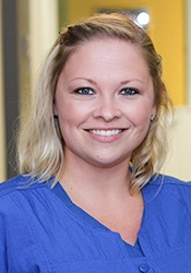 Headshot of dental assistant Becky